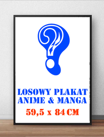 Losowy duży plakat Anime 59,5 x 84cm