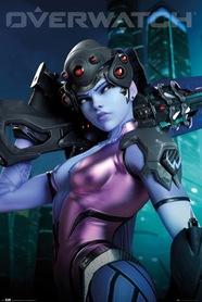 Plakat Overwatch Widowmaker
