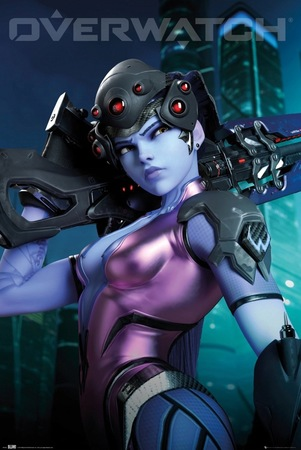 Plakat Overwatch Widowmaker (1)
