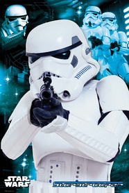 Plakat Star Wars Szturmowiec