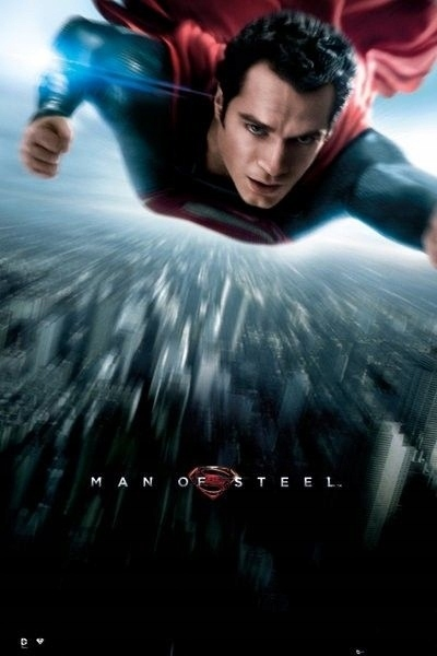 Plakat Man of Steel (1)