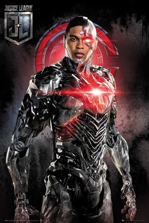 Plakat Liga Sprawiedliwości - Cyborg (1)