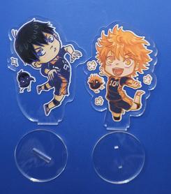 Zestaw dwóch figurek Haikyuu!! - Kageyama i Hinata + Gratis