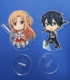 Zestaw dwóch figurek Sword Art Online - Kirito i Asuna + Gratis