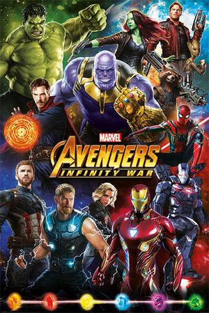 Plakat Avengers Infinity War 01 (1)