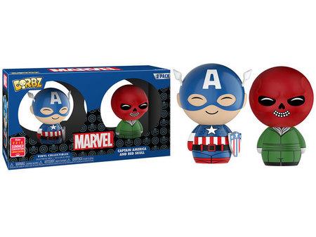 Marvel - Captain America & Red Skull (1)